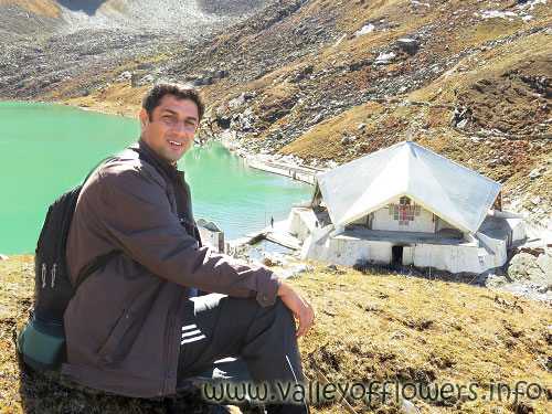 Hemkund Sahib in October 2013, when I went to see the Valley of Flowers.