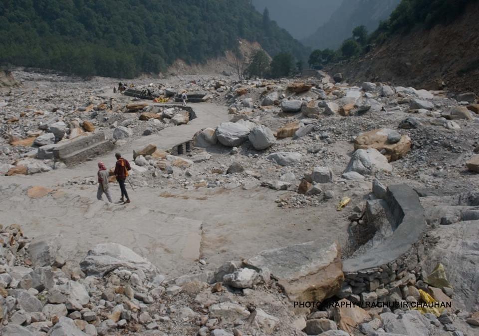 Govindghat to Ghangaria trek,