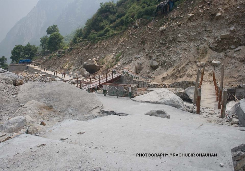 Two Bridges at Bhyuandar and the third one the biggest one is under construction,