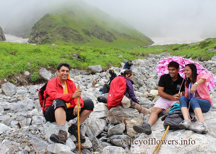 Photos of 2nd group visited Valley of Flowers