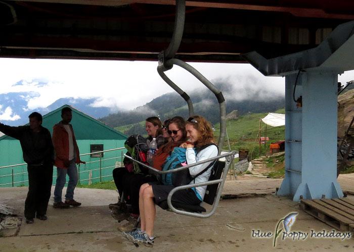 Auli and Gorsan Peak Picture