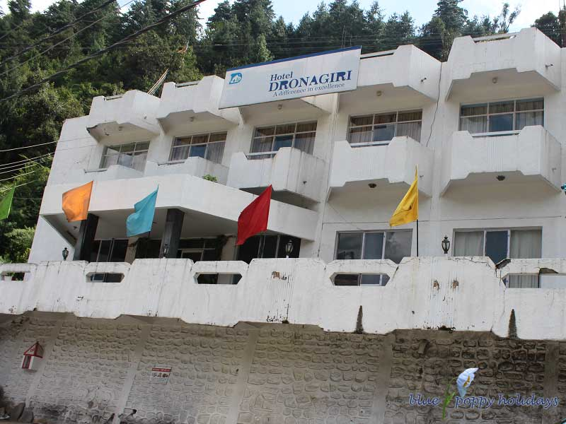 Hotels at Joshimath- Hotel Dronagiri