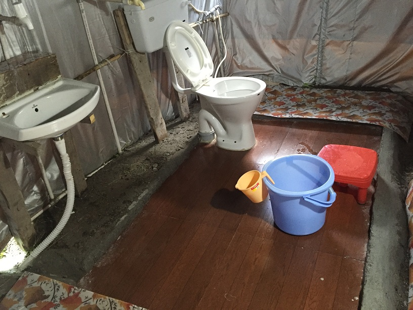 Blue Poppy Swiss camps Ghangaria | Attached Western Style Toilets