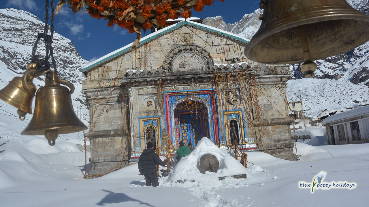 Kedarnath is winters
